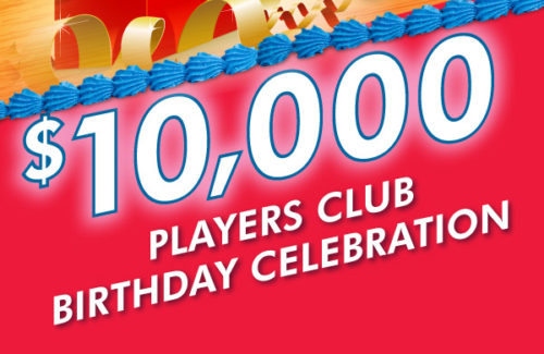 Players Club Birthday Celebration