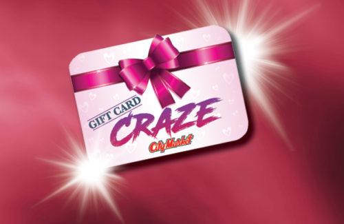 GIFT CARD CRAZE